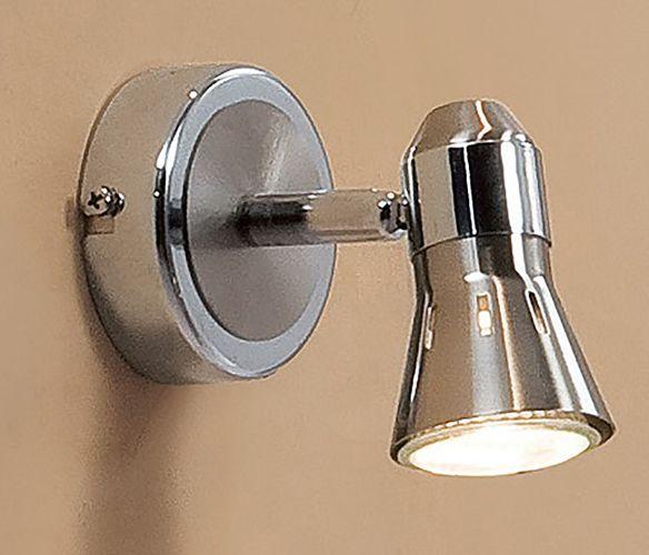 Купить Светильник настенный Citilux CL503511 Техно GU10 1x50Вт хром