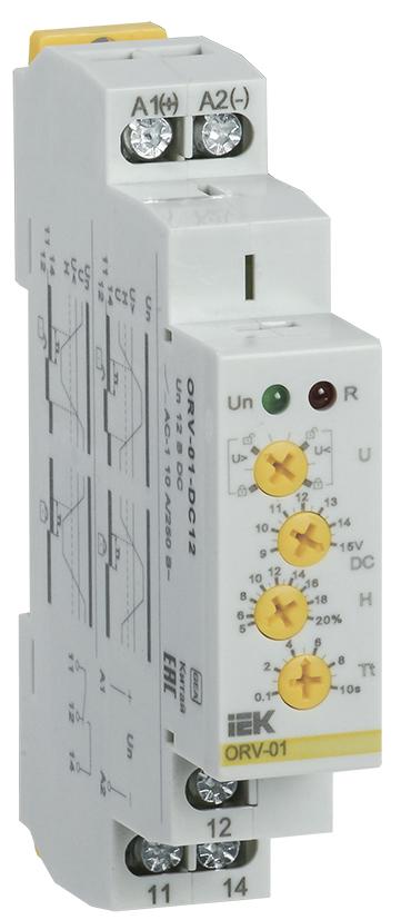 Купить Реле контроля 1-фаз. напряжения ORV 10А 12В DC IEK, IEK (ИЭК)