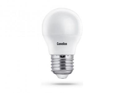 Купить Лампа светодиодная Camelion LED8-G45/830/E27 8Вт 230В Е27 теплый-белый, матовая