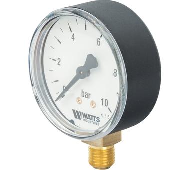 Манометр радиальный нр 1/4х 10 бар (63мм) F+R200(MDR) 6310 Watts 10007724(03.18.