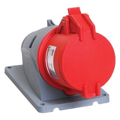 Купить Розетка для монтажа на поверхность 3P+E 32A IP44 124 MAGNUM силовая стационарная, IEK (ИЭК)