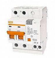 Купить Дифференциальный автомат 2-пол. 25А с 30мА 4, 5кА АД12 TDM АД12, , TDM ELECTRIC