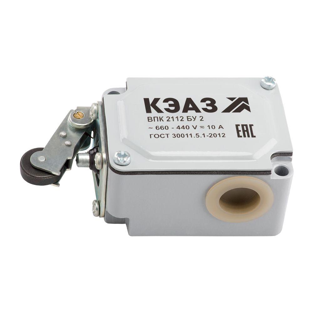 Купить Выключатель путевой ВПК-2112Б-У2-КЭАЗ Серия ВП, ВПКДатчики и концевые выключател, КЭАЗ (Курский электроаппаратный завод)