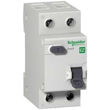 Купить Дифференциальный автомат 1пол.+N 10А 30мА с тип AС 4.5кА Easy9 Schneider Electri, Schneider Electric