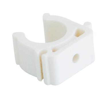 Купить Крепление для полипропиленовых труб под сварку (цвет белый) d=40 Kalde 3592-bck-, Турция