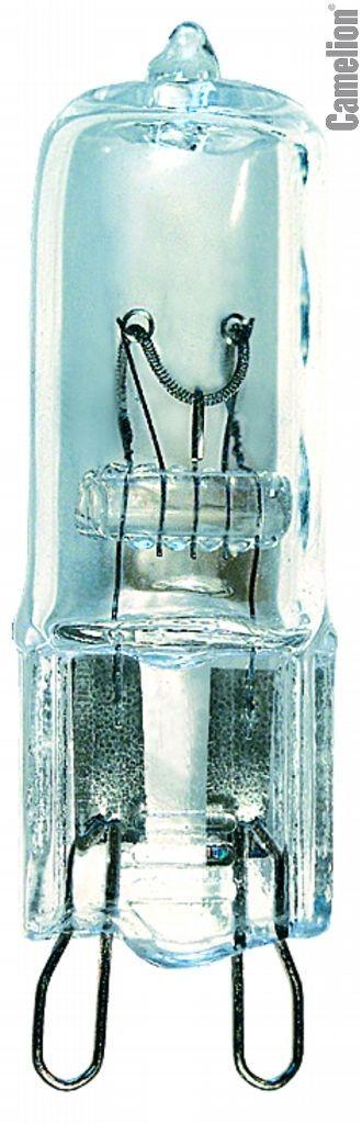 Купить Лампа галогенная Camelion G9 75 CL 75Вт 230В капсула прозрачная