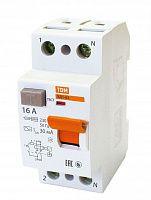 Купить Устройство защитного отключения 2-пол. 16А 30мА ВД1-63 TDM, TDM ELECTRIC