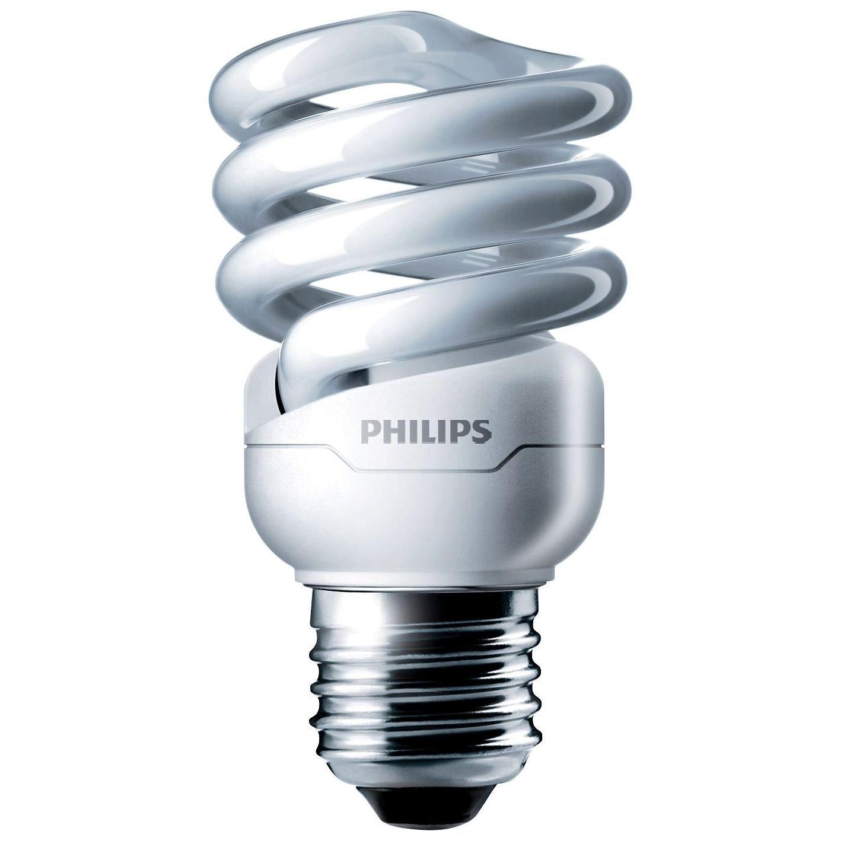 Купить Лампа люминесцентная Philips Tornado T2 12W WW E27 220-240V 1PF/6 8000ч теплый-б