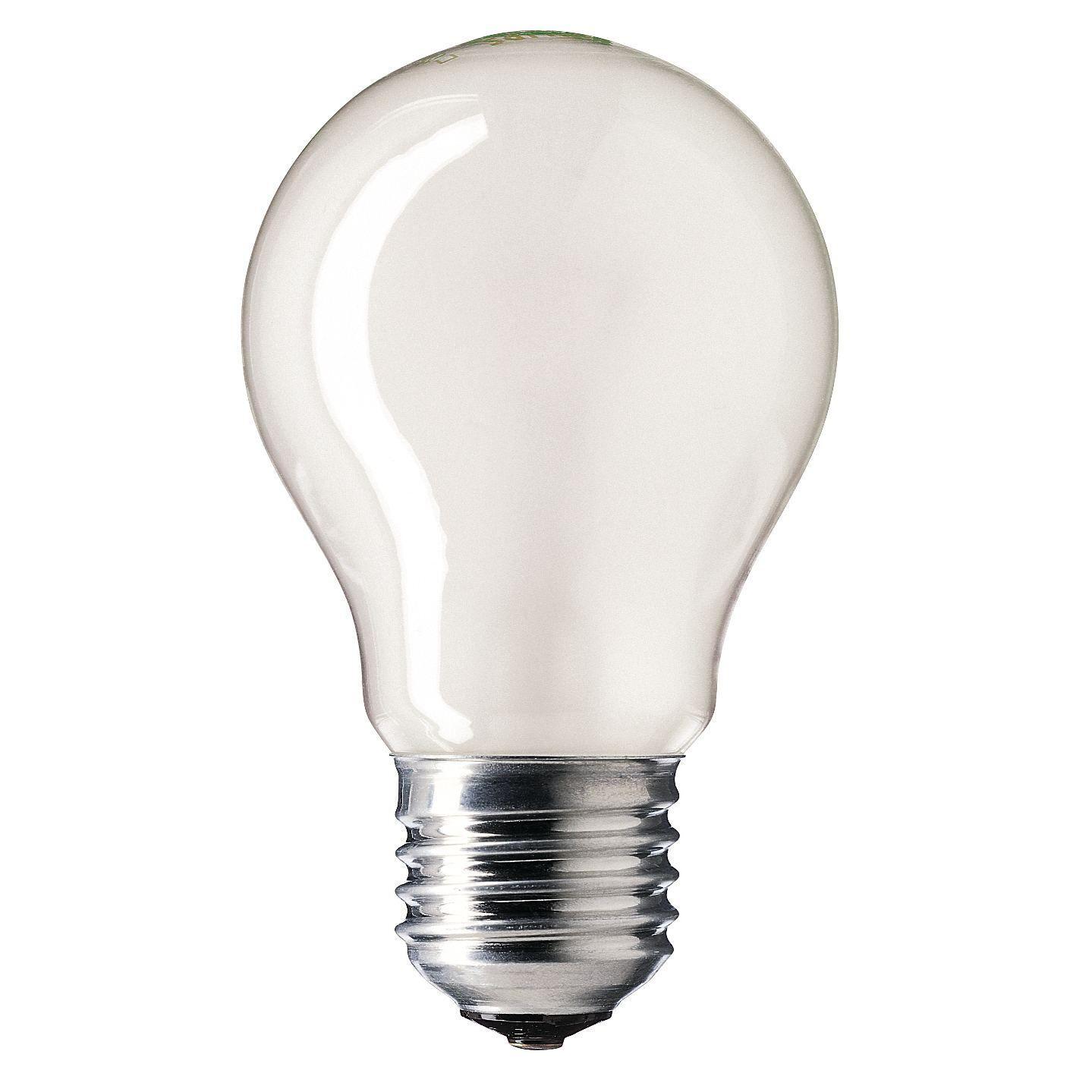Купить Лампа накаливания Philips Stan 60W E27 230V A55 FR 1CT/12X10F матовая