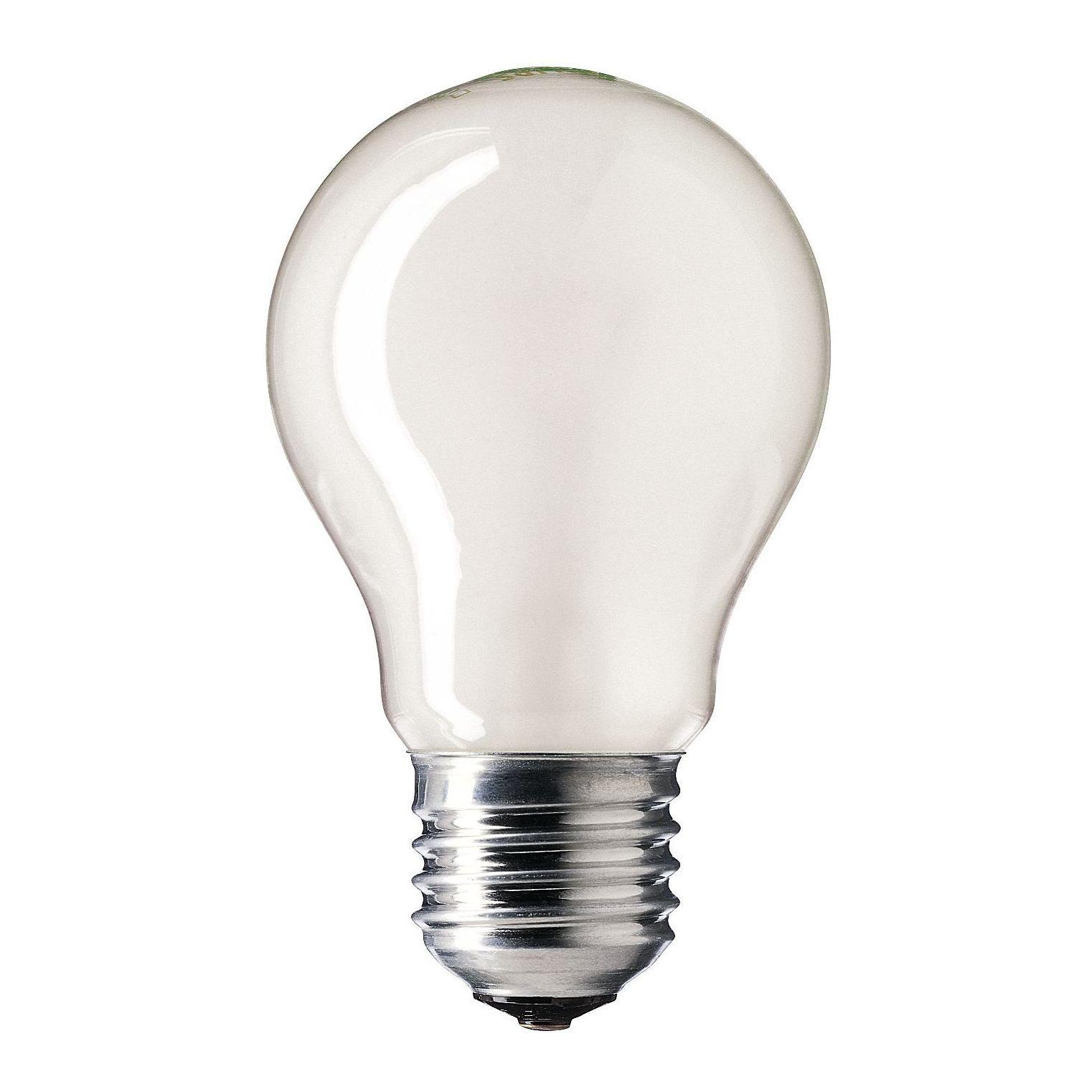 Купить Лампа накаливания Philips A55 40W 230V E27 FR.1CT/12X10F Pila матовая
