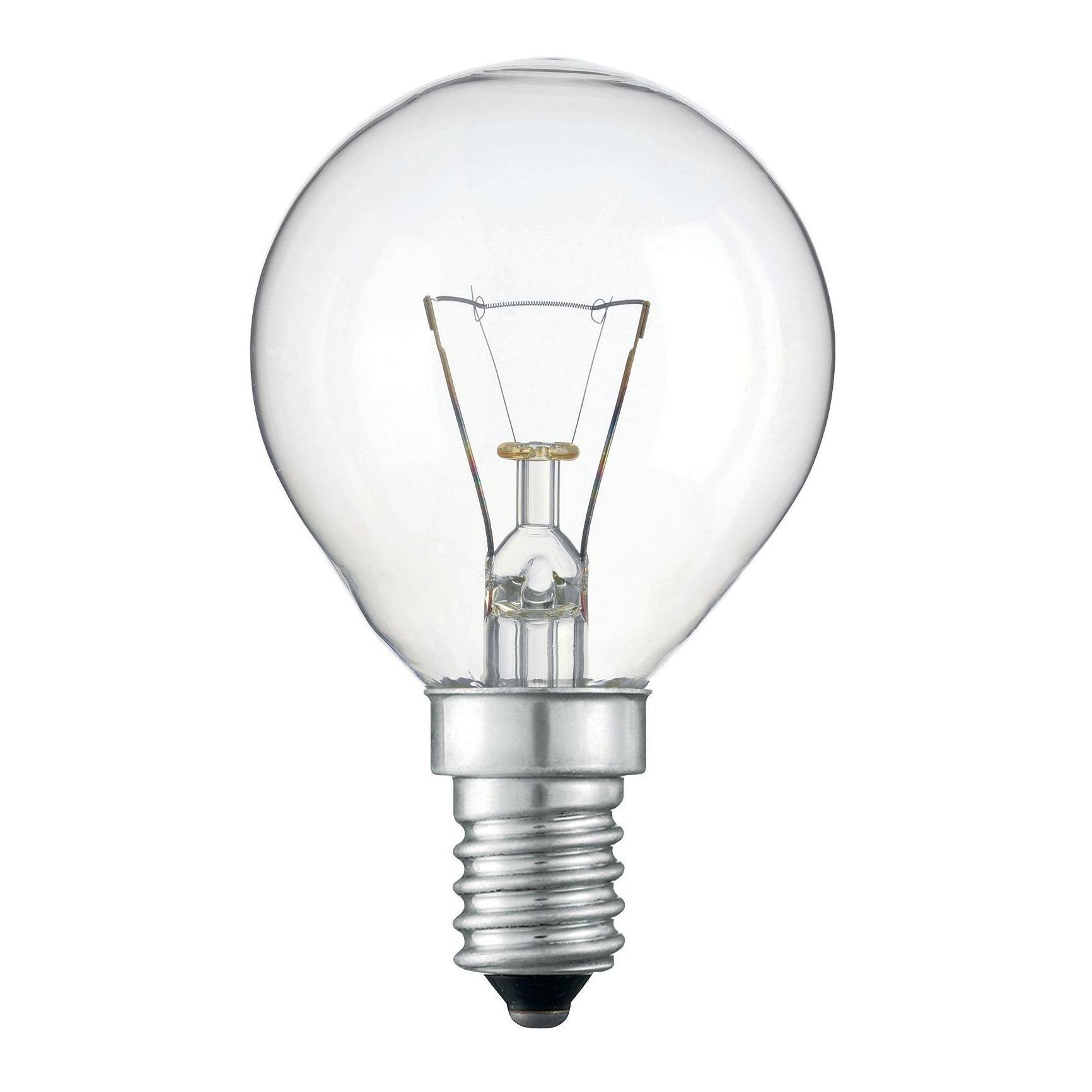 Купить Лампа накаливания Philips Stan 40W E14 230V P45 CL 1CT/10X10F прозрачная