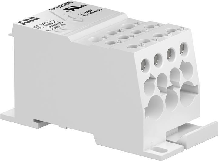 Купить Распределительный блок 250А 1-полюсный BRU250A ABB