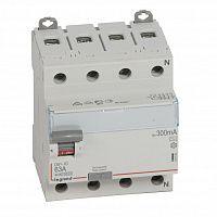 Купить Устройство защитного отключения 4-пол. 63А 300mA тип АС DX3 Legrand