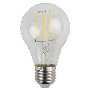 Купить Лампа светодиодная Эра F-LED А60-5w-827-E27 (25/50/1200) филаментная теплый-белы, ЭРА (Энергия света)
