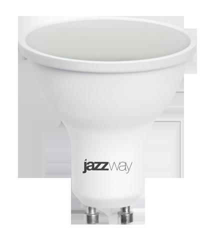 Купить Лампа светодиодная Jazzway PLED-SP GU10 7w 3000K 230/50 7Вт 230В теплый-белый