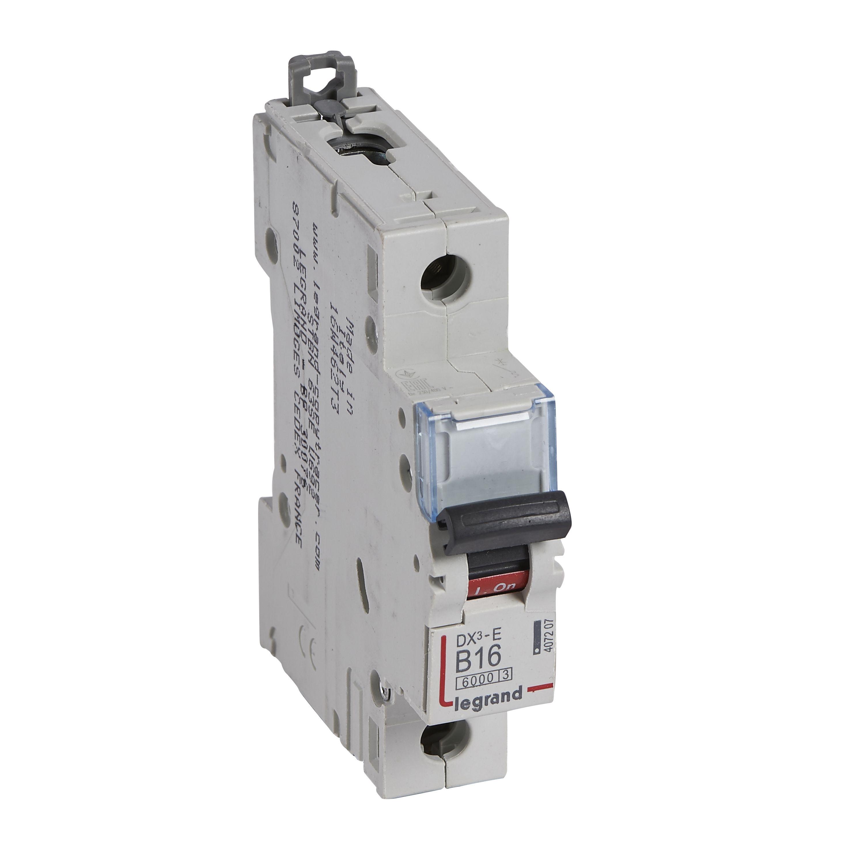 Купить Выключатель автоматический 1-пол. 16A B 6kA DX3-E Legrand DX3 6 kA B