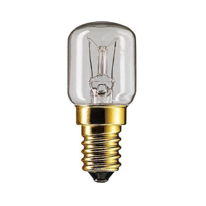 Лампа накаливания Philips Appl 15W E14 230-240V T25 RF 1CT/10x10F для холодильни  - Купить
