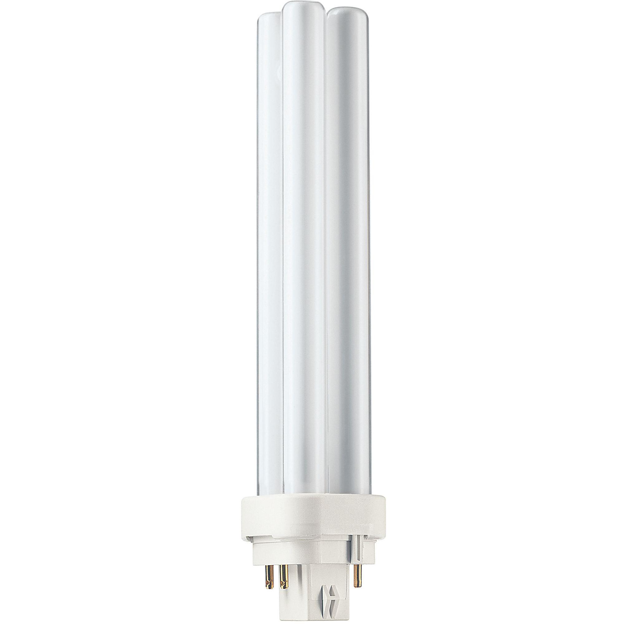 Купить Лампа люминесцентная Philips Master PL-C 26W/840/4P 1CT/5X10BOX 4-штыр. G24q3 2