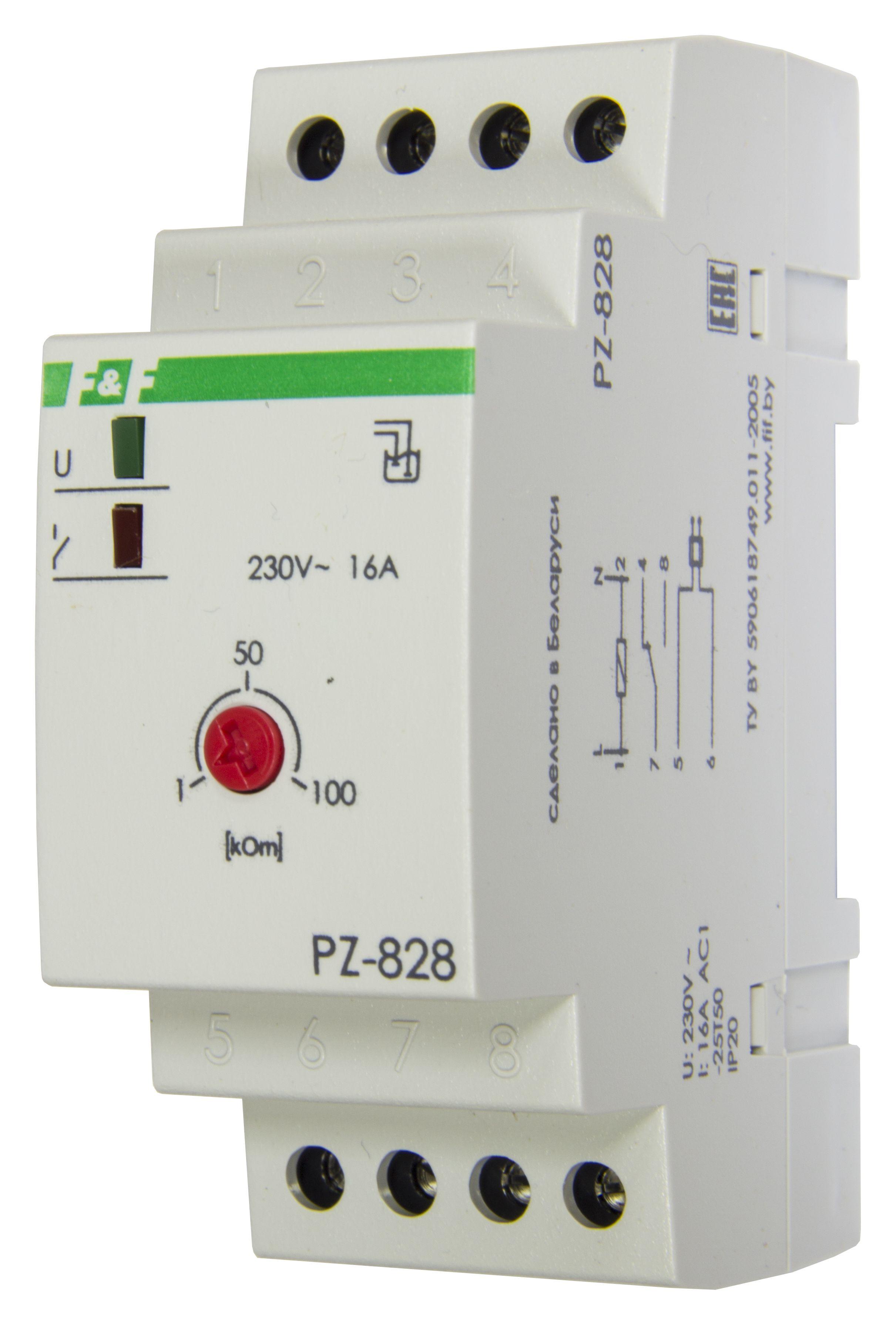 Купить Реле контроля уровня PZ-828 (одноуровневое) 16А 220В, Евроавтоматика ФиФ