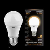 Купить Лампа светодиодная Gauss 102502107 7Вт 230В теплый-белый
