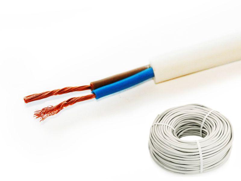 Купить Провод соединительный ПВС 2х0.75 мм кв. [ГОСТ 7399-97], РТ-Кабель (RT-KABEL)