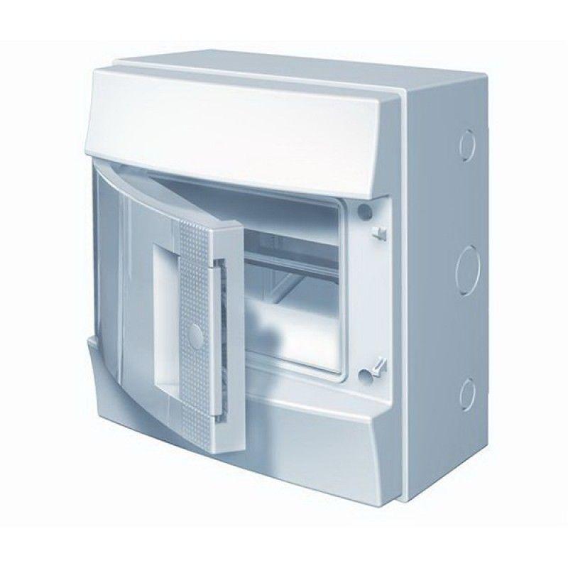 Купить Бокс настенный Mistral41 8М непрозрачная дверь (с клеммами) 257х202х120 IP41 ABB