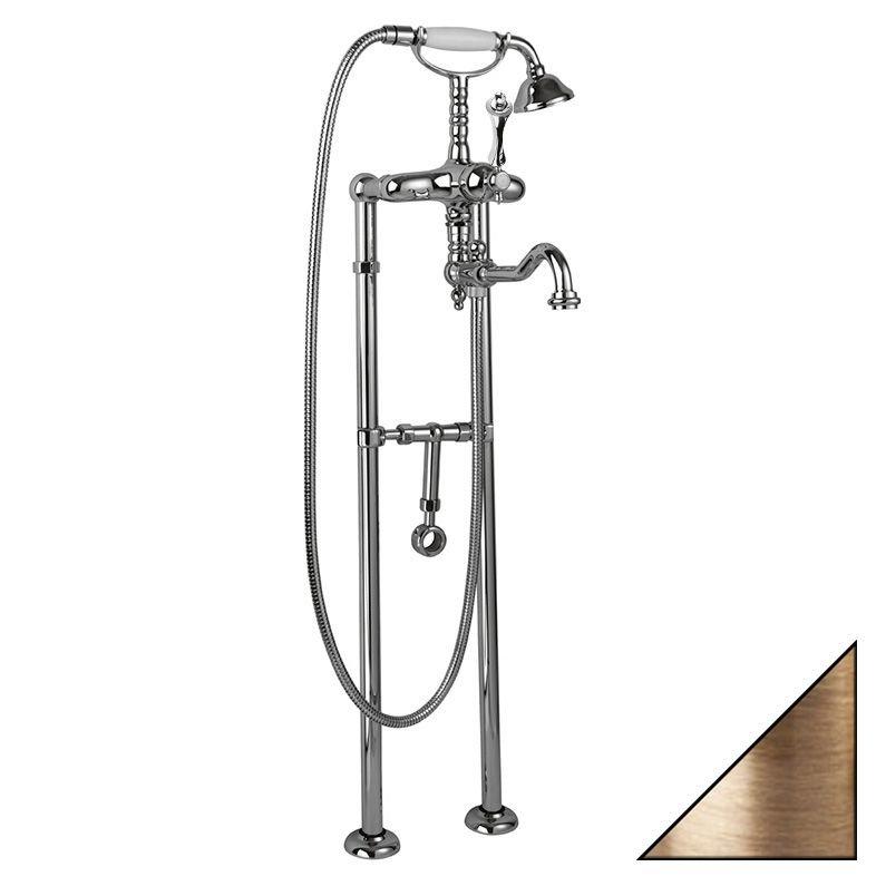 Купить Смеситель напольный для ванны Cezares MARGOT-VDP-02-M однорычажный с ручным душе, Италия