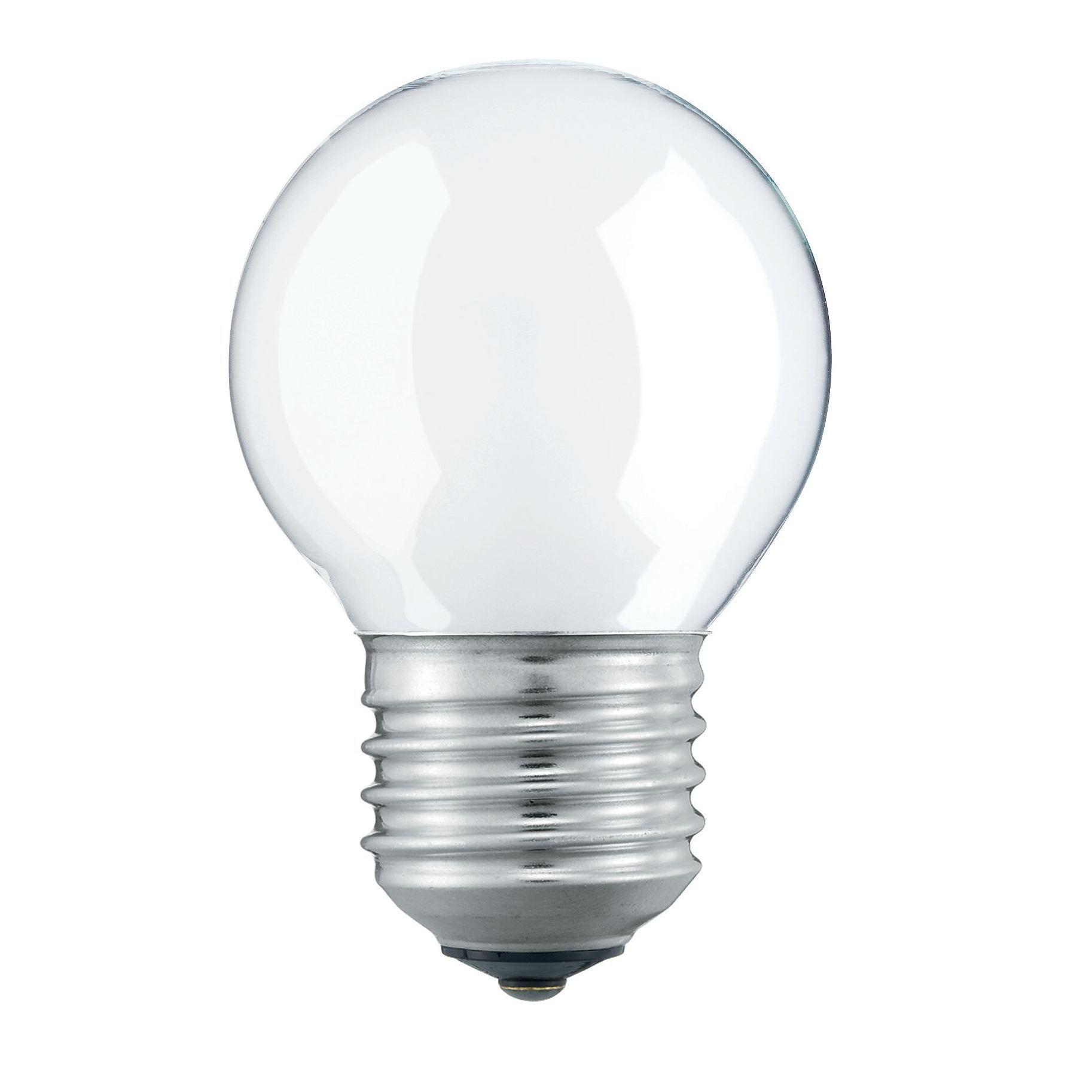 Купить Лампа накаливания Philips 40W E27 230V P45 FR 1CT/10X10 матовая