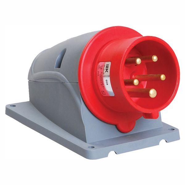 Купить Вилка для монтажа на поверхность 3P+N+E 32A IP44 MAGNUM силовая стационарная IEK, IEK (ИЭК)