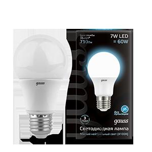 Купить Лампа светодиодная Gauss 102502207 7Вт 230В холодный-белый