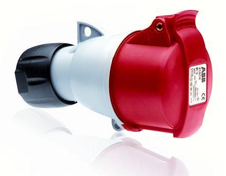 Купить Розетка силовая переносная 3P+N+E 16A IP44 ABB