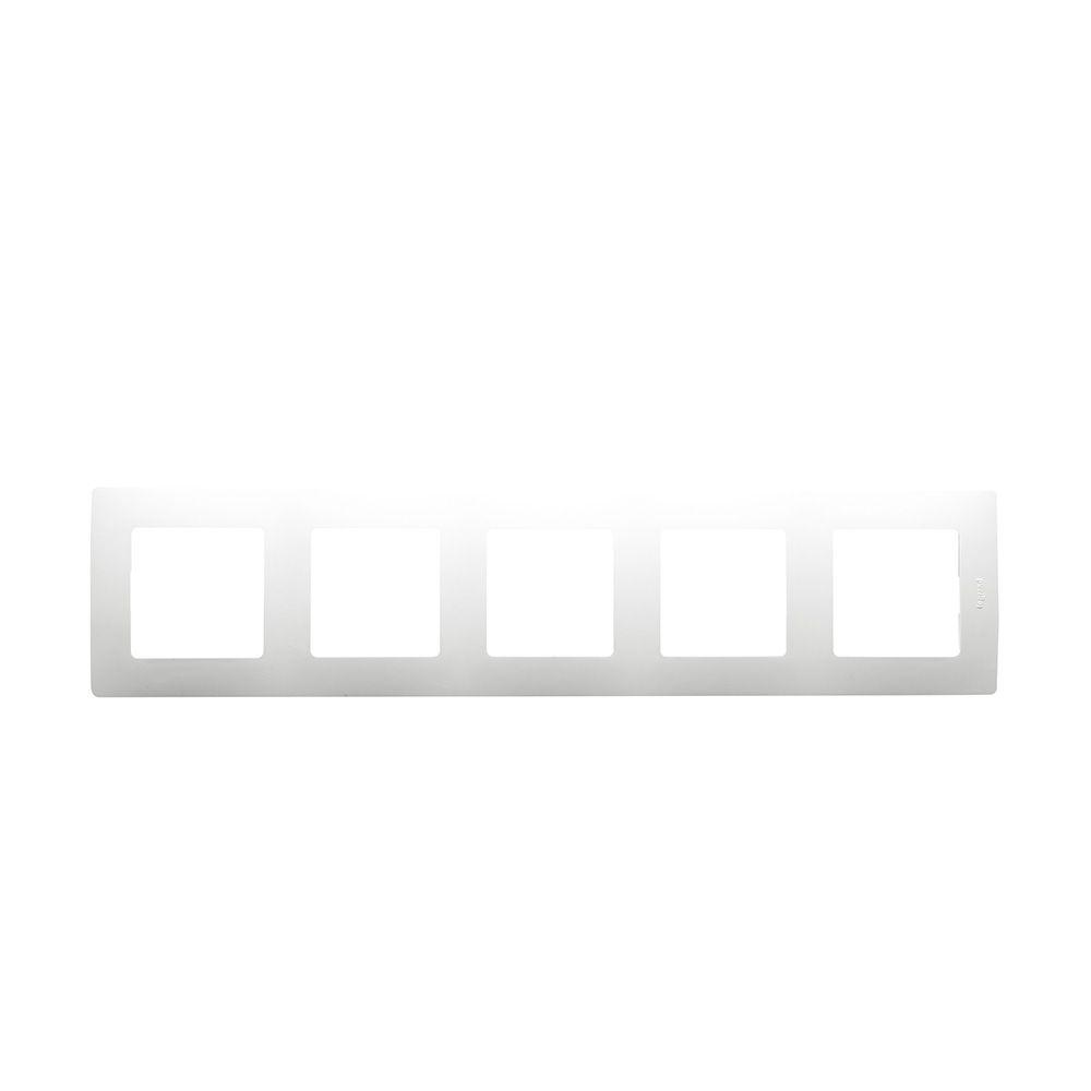 Купить Рамка 5-пост. белая Etika Legrand