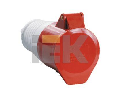 Купить Розетка силовая переносная 3P+N+E 16A IP44 215 IEK, IEK (ИЭК)