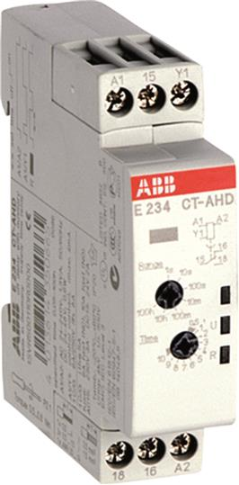 Купить Модульное реле времени CT-AHD.12 (задержка на отключение) 24-48B DC, 24-240B AC, ABB