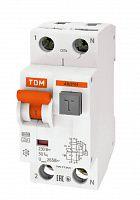 Дифференциальный автомат 2-пол. 16А с 30мА АВДТ 64 TDM АВДТ63, АВДТ64, TDM ELECTRIC  - Купить