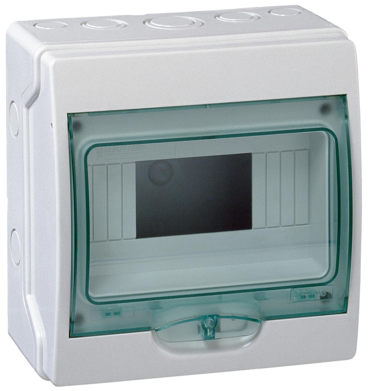 Купить Бокс настенный IP65 12М с прозр. дверью (Mini Kaedra), 200х267х112мм Schneider E, Schneider Electric