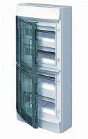 Купить Бокс настенный IP65 48М Mistral дымчатая дверь 320x735x155 ABB