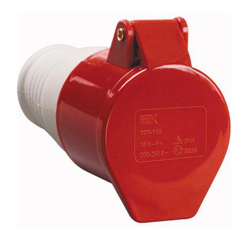Купить Розетка силовая переносная 3P+E 32A IP44 224 MAGNUM IEK, IEK (ИЭК)