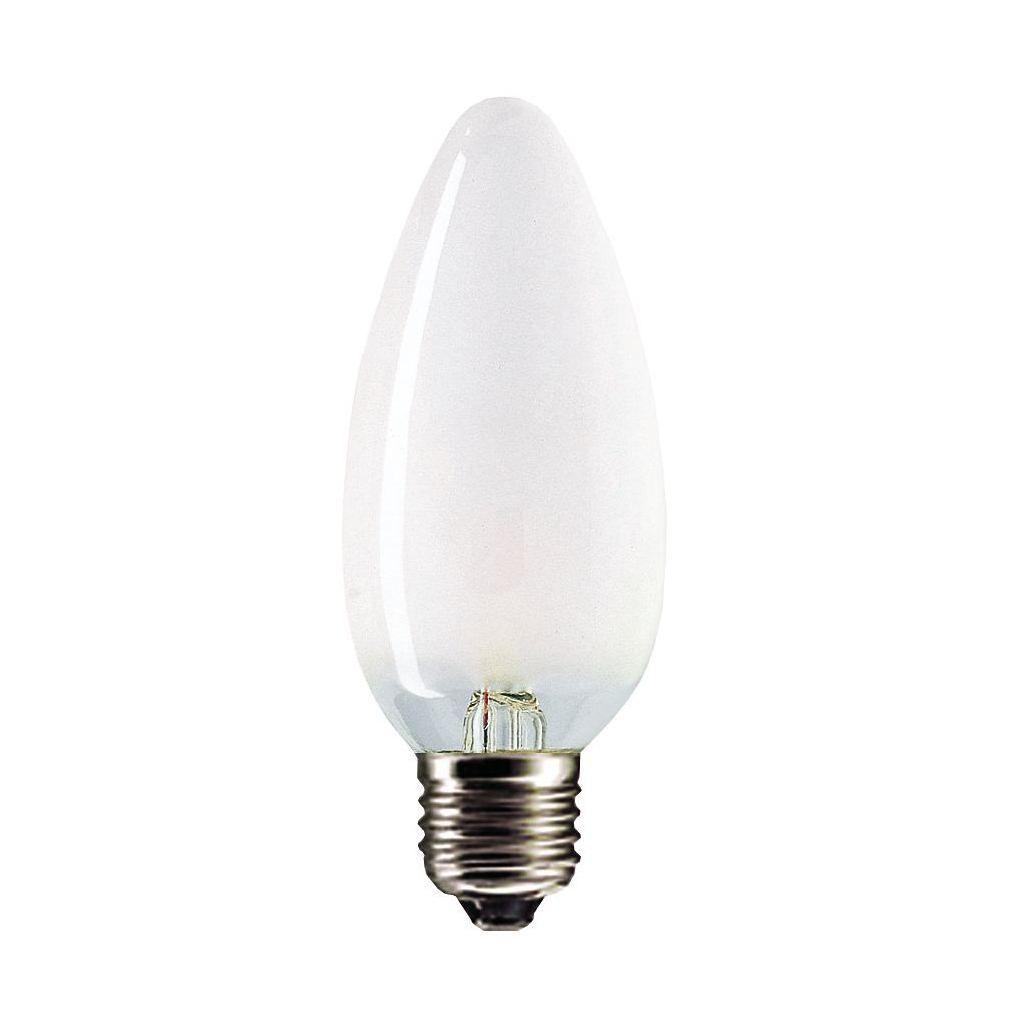 Купить Лампа накаливания Philips Stan 40W E27 230V B35 FR 1CT/10X10F свеча матовая