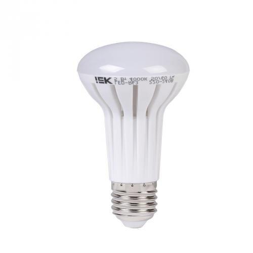 Купить Лампа светодиодная IEK LLP-R63-5-230-40-E27 5Вт 230В холодный-белый, IEK (ИЭК)