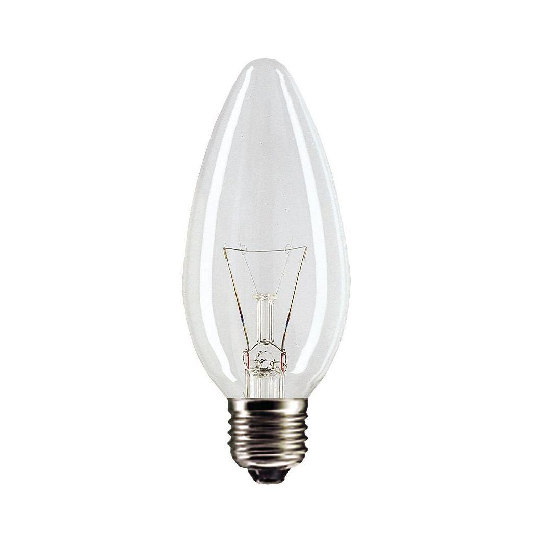 Купить Лампа накаливания свеча Philips Stan 40W E27 230V B35 CL (2шт)