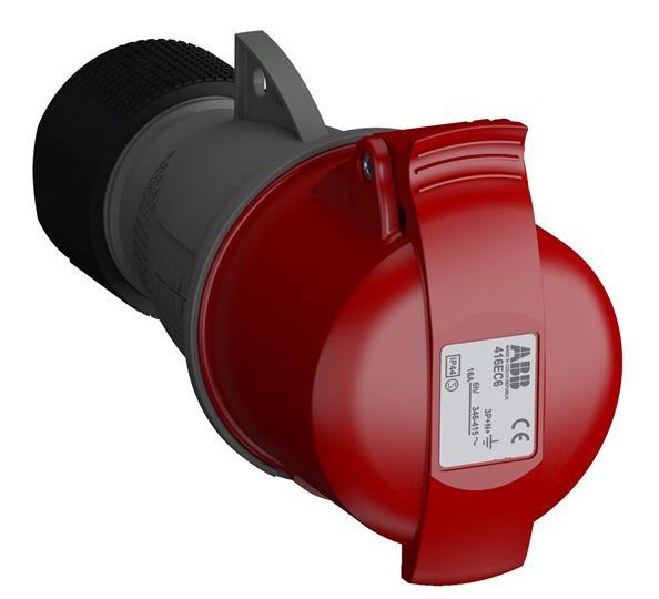 Купить Розетка силовая переносная 3P+N+E 16A IP44 ABB Easy&Safe