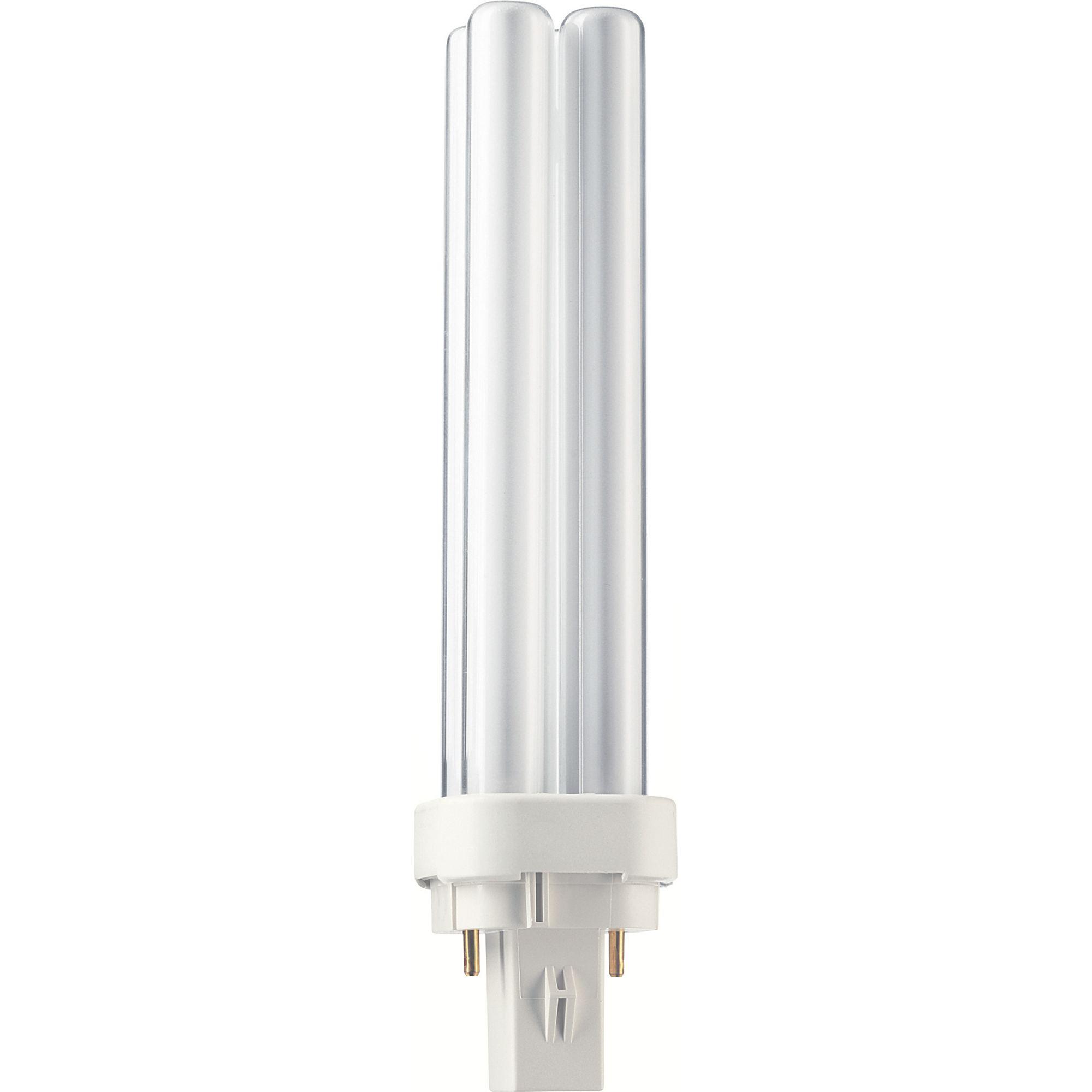 Купить Лампа люминесцентная Philips Master PL-C 18W/840/2P 1CT/5X10BOX 2-штыр G24d-2 2