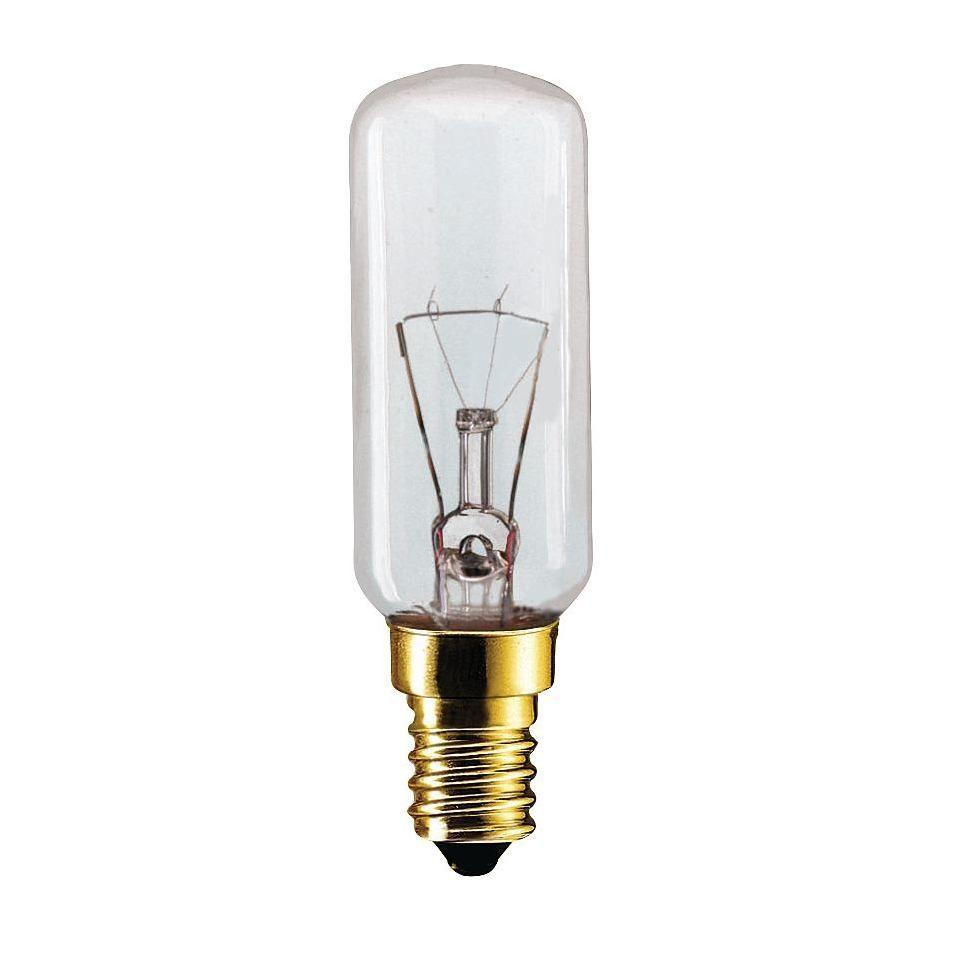 Купить Лампа накаливания Philips Appl 40W E14 230-240V T25L CL CH 1CT h=86мм для холоди