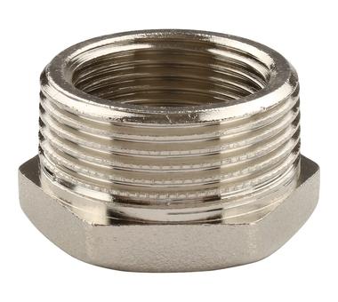 Купить Футорка НВ никелированная 1 1/4х1 для стальных труб резьбовой TIEMME 1500238(158, Италия