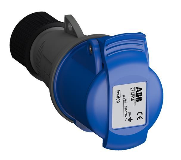 Купить Розетка силовая переносная 2P+E 16A IP44 ABB Easy&Safe