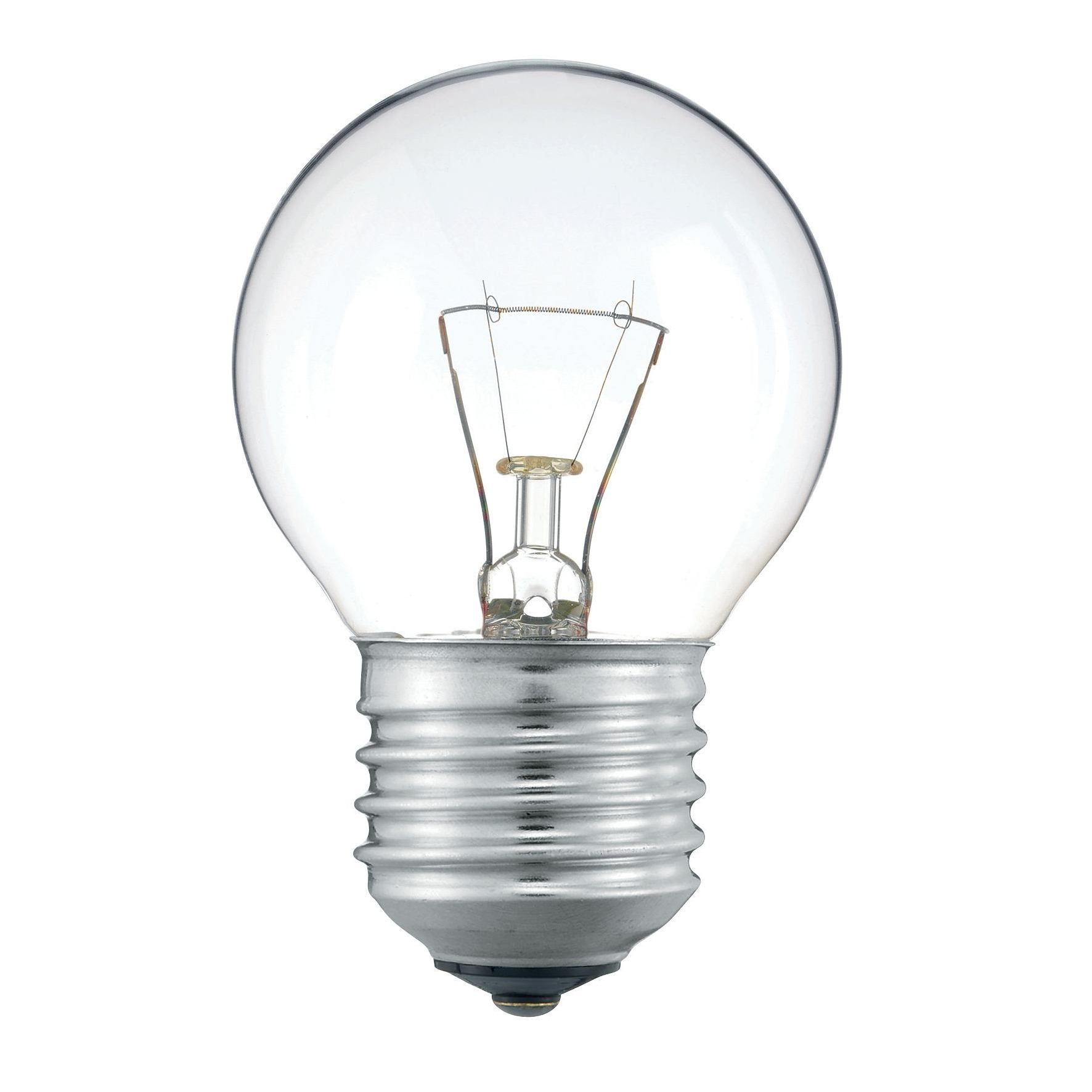 Купить Лампа накаливания Philips Stan 60W E27 230V P45 CL 1CT/10X10F прозрачная