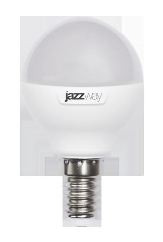 Купить Лампа светодиодная Jazzway PLED- SP G45 9w E14 3000K 820 Lm 2 теплый-белый, мато