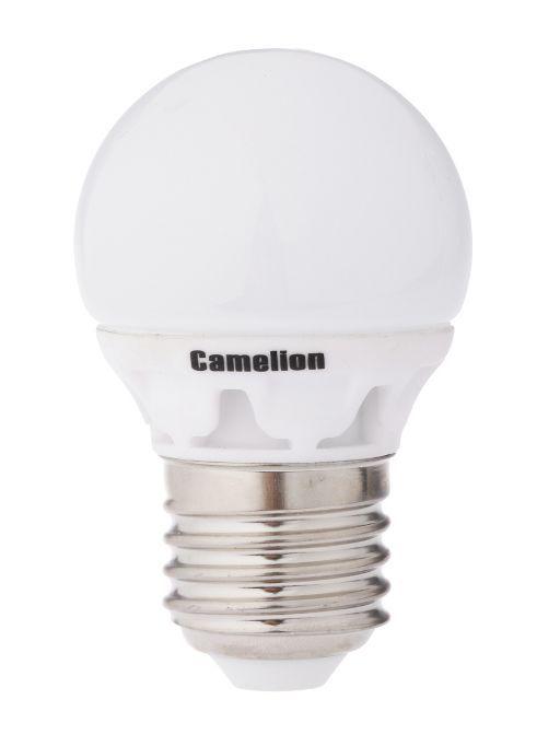 Купить Лампа светодиодная Camelion LED3-G45/845/E27 3Вт 230В холодный-белый