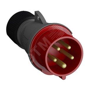 Купить Вилка кабельная 16А 3Р+N+E IР44 переносная 415В Easy&Safe ABB, Швеция